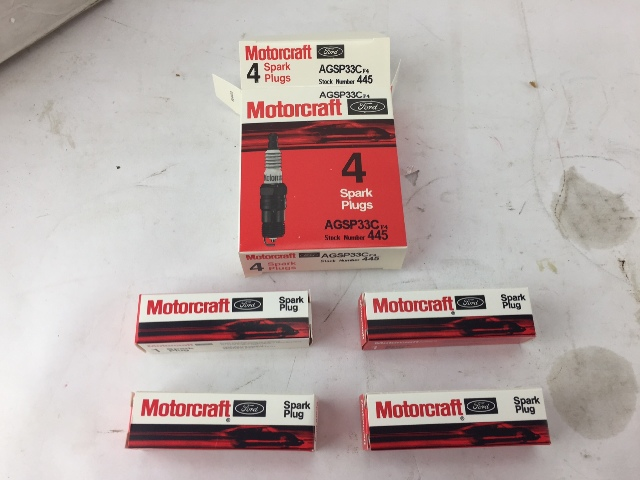 Motorcraft AGSP33C Spark Plugs OEM - PACK OF 4