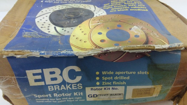 EBC Brakes GD7047 3GD Series Dimpled and Slotted Sport Roto