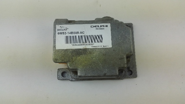 JAGUAR XF ADCM ADAPTIVE SUSPENSION ECU 6W83-14B588-AC
