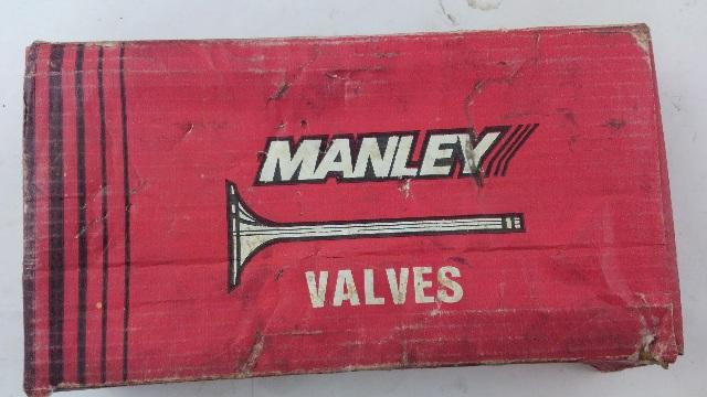 Manley Race Series Stainless Steel Valves 11526-8