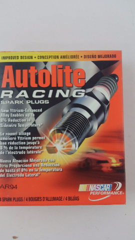 FOUR Autolite AR472 High Performance Racing Non-Resistor Spark Plug
