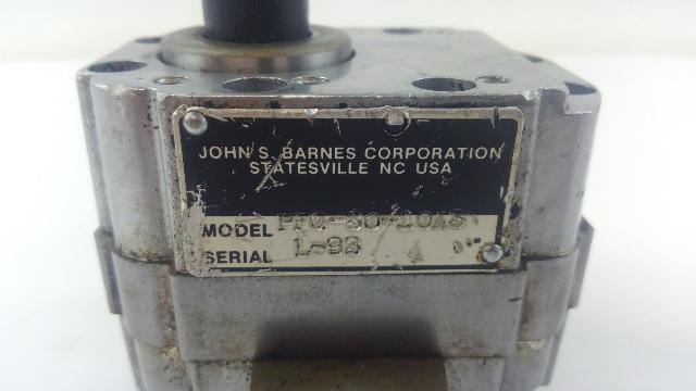 John S Barnes JSB Hydraulic Pump PFG-50-10A3 3/8 NPT