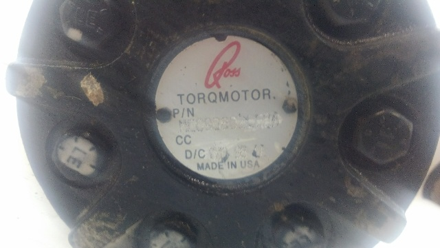 ROSS TORQMOTOR ME090602CCCA HYDRAULIC MOTOR
