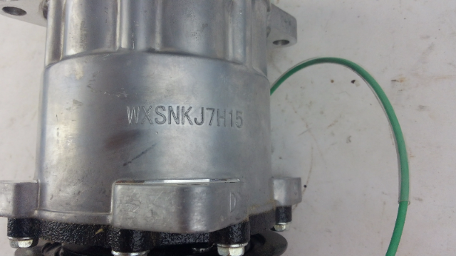 Classic Auto Air SD5 Rotary Compressor 2V Groove Rear Port wxsnkj7h15