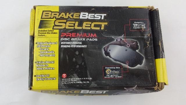 BrakeBest Select Brake Pads - Brake Pad Part # SC975