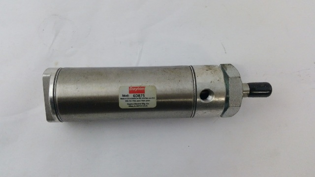 DAYTON 6D875 Nose Mounted Round Air Cylinder
