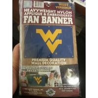 West Virginia Applique & Embroidered Fan Banner (s#40-4)