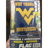 West Virginia 2-Sided Applique & Embroidered Oversized Flag (s#40-4)