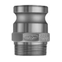 """PT 40F Aluminum 4"""" Adapter x Male NPT Thread F - NEW!"""