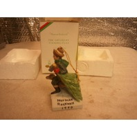 Norman Rockwell Christmas Ornament 1990 (s#2-7)