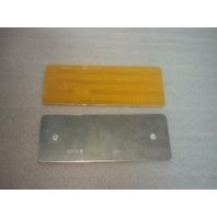 "3"" x 8"" Yellow Reflector Marker (s#22-4)"