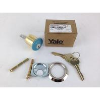 Yale Rim Cylinder Para Keyway 6 Pin Satin Chrome 1109 626 Para 6