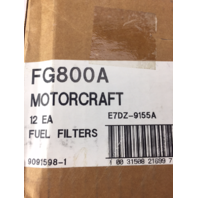 Motorcraft FG800A Fuel Filter QTY OF 12