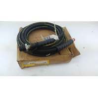 20 Ft. ENERPAC Rubber High Pressure Hydraulic Hose Assembly