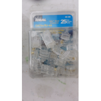 Ideal RJ-45 8-Position 8-Contact Category 5e Modular Plugs X25