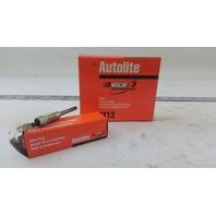 PACK OF 4 AUTOLITE SPARK PLUGS 1112 GLOW PLUG