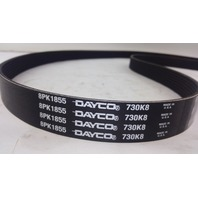 DAYCO 8PK1855BUM FAN AND GENERATOR BELT