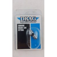 (18 PACKS) Drag Specialties DS098244 1/8 Pipe X #3 Fitting Ch.