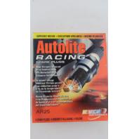 FOUR Autolite AR25 High Performance Racing Non-Resistor Spark Plug
