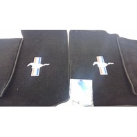 Floor Mat Carpeted With Tri-Bar Logo Black Set 1994-2004