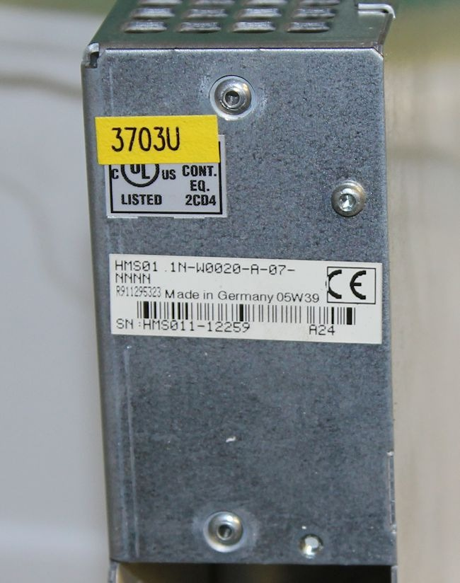 Bosch Rexroth Hms01 1n W0020 A 07 Nnnn 1001476807