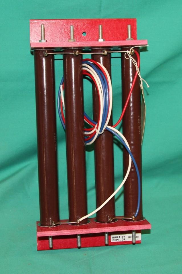 Resistor Bank 362958.00 FR200 1000 Ohms Memcor 9552   PartCrib.com