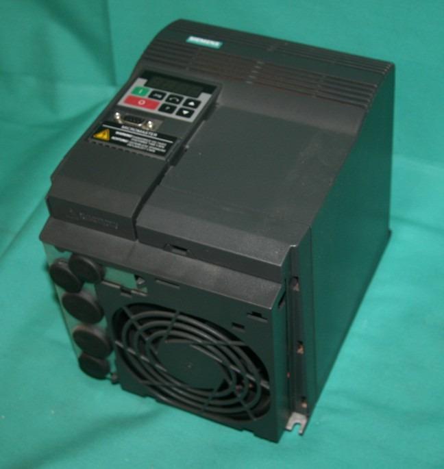 Siemens Micromaster 6se9221 8cc13 Vfd Motor Drive 5hp Ebay
