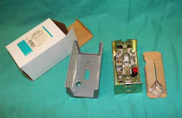 Siemens Smffg2p Toggle Switch Manual Motor Starter 2pole New