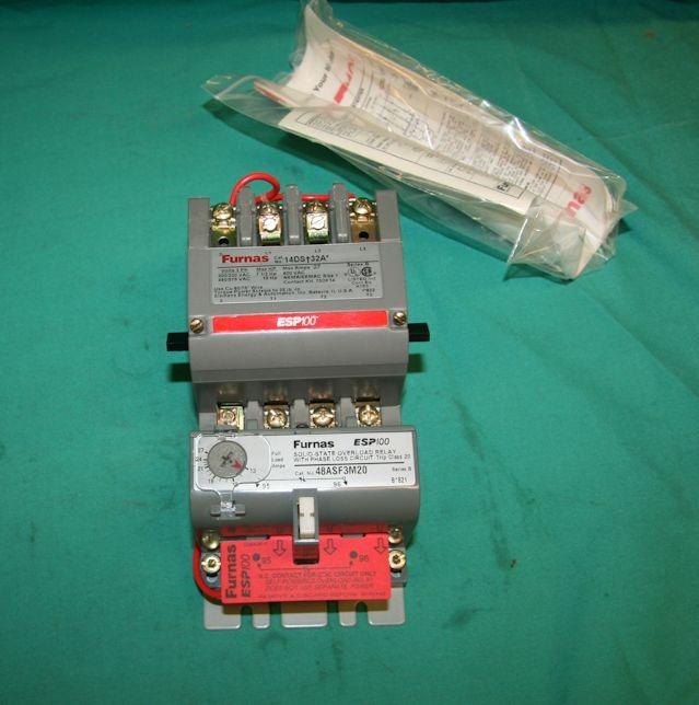 Furnas 14dsf32af magnetic starter contactor motor 13 27a Furnas motor starter