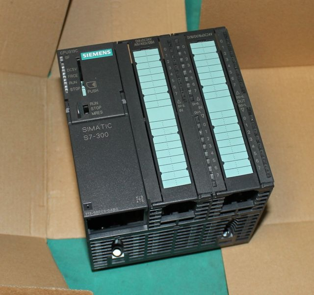 siemens 6es7 313 5bf03 0ab0 simatic plc s7 300 cpu new ebay. Black Bedroom Furniture Sets. Home Design Ideas