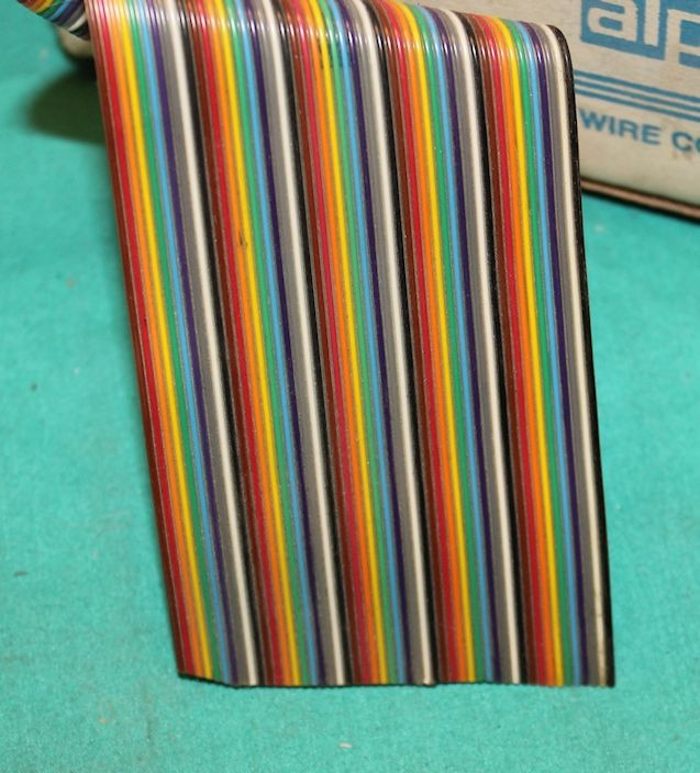 Flat Conductor Ribbon Cable : Alpha wire flat ribbon cable conductors