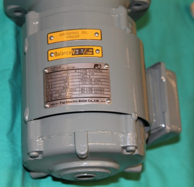 Fuji mlp3075g electric motor flange mount grinding oil for How to lubricate an electric motor