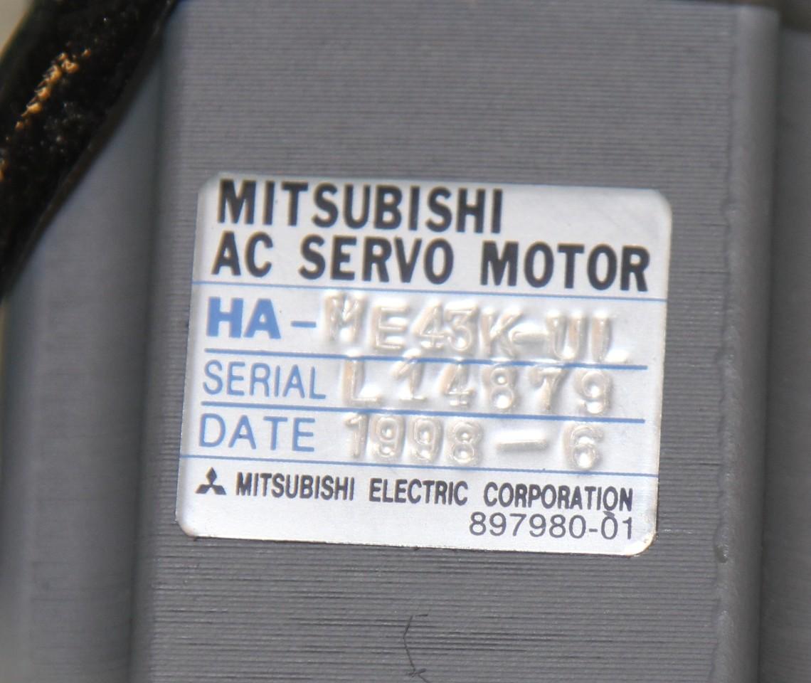 Mitsubishi ha me43k ul ac servo motor melservo for Mitsubishi motors customer service
