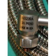 CSI A0322RA Accelerometer Cable 30' SN:P9200 Emerson Vibration Sensor NEW