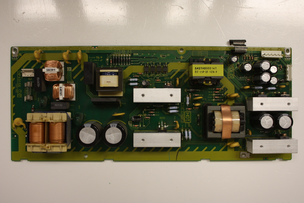 "panasonic 26"" tc-26lx20 tnpa3156 power supply board unit"
