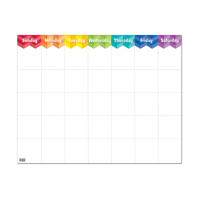 PAINTED PALETTE LARGE CALENDAR