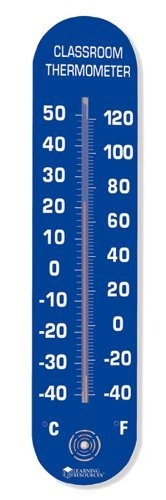 Jumbo Classroom Thermometer; 20H X 4-1/2W; no. LER0382