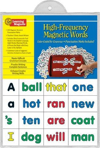Color-Coded Words Activity Kit Magnets