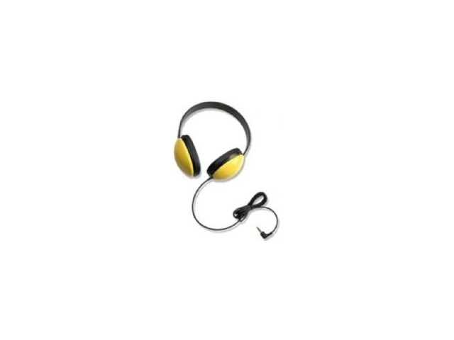 Califone 2800-YL Listening First Stereo Headphones- Yellow