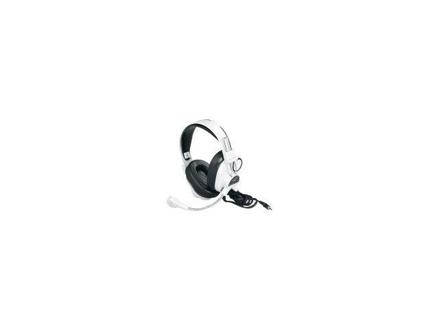 Califone 3066AV Deluxe Multimedia Stereo Wired Headset, 3.5mm Plug