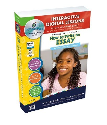 How To Write An Essay - IWB Digital Lesson Plans (Writing Skills)