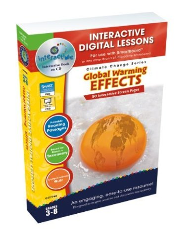 Global Warming Effects - IWB Digital Lesson Plan (Gr. 3-8)