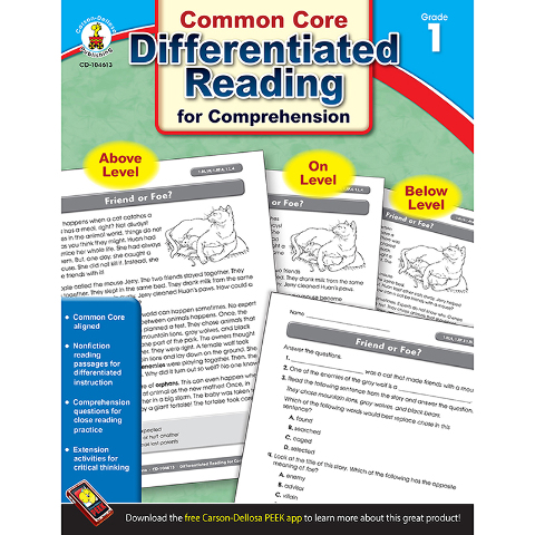 BOOK 1 DIFFERENTIATED READING FOR