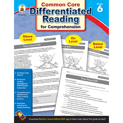 BOOK 6 DIFFERENTIATED READING FOR