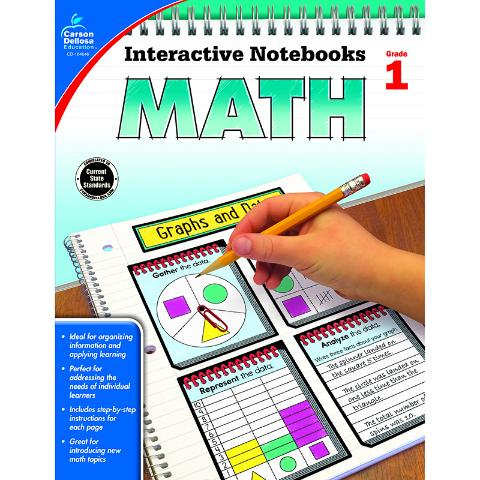 INTERACTIVE NOTEBOOKS MATH GR 1
