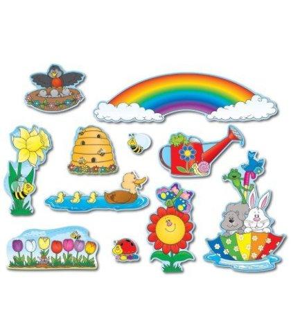 Spring Mini Bulletin Board Sets / BBS - Multi-Colored; no. CD-110048