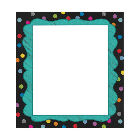 COLORFUL CHALKBOARD NOTEPADS