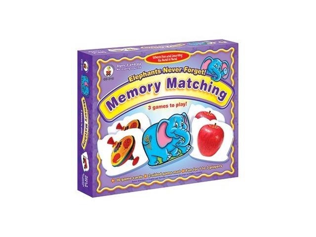 Carson-Dellosa Publishing Elephants Never Forget: Memory Matching