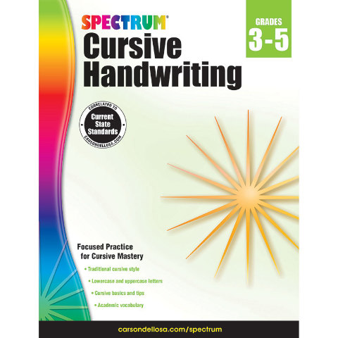 SPECTRUM MANUSCRIPT HANDWRITING