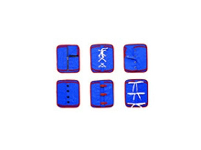Childrens Factory Set of 6 Manual Dexterity Boards